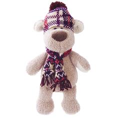 Мягкая игрушка Fluffy Family «Пес Филька» в шапке