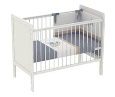 Кроватка Polini «Simple 220» белый
