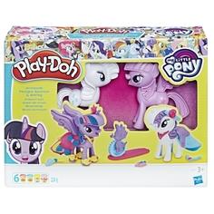 Игровой набор Play-Doh «Твайлайт и Рарити»