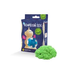 Космический песок «Зеленый» 150 г с формочкой