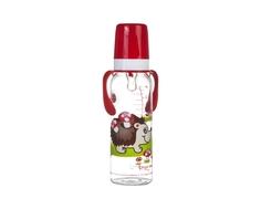 Бутылочка Canpol babies «Континенты» с силиконовой соской 12 мес.+, 250 мл. в ассортименте