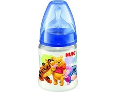 Бутылочка Nuk «First Choice Disney» с силиконовой соской 0+, 150 мл.