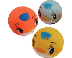 Игрушка для ванны Курносики «Мячики-пингвины»