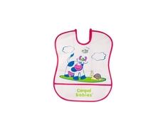 Нагрудник Canpol babies пластиковый мягкий в ассортименте