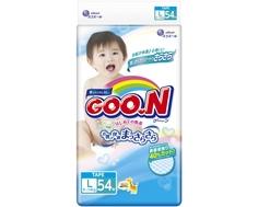 Подгузники Goo.N L (9-14 кг) 54 шт. Goon