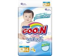 Подгузники Goo.N M (6-11 кг) 64 шт. Goon