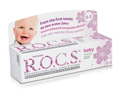 Зубная паста R.O.C.S. Baby «Аромат липы» с рождения, 45 г