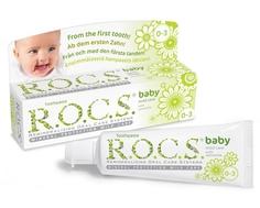 Зубная паста R.O.C.S. Вaby «Душистая ромашка» с рождения, 45 г