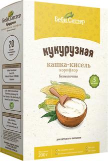 Каша-кисель безмолочная Беби Ситтер кукурузная (корнфлор) с 5 мес. 200 г