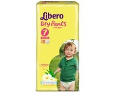 Трусики-подгузники Libero Dry Pants 7 (16-26 кг) 28 шт.