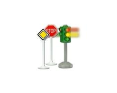 Игровой набор Dickie «Светофор и знаки дорожного движения»