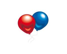 Набор воздушных шаров Everts цветных металлик 10 шт.