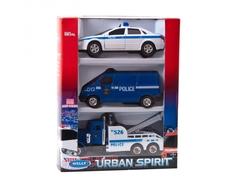 Машинка Welly «Полиция» 3 шт.