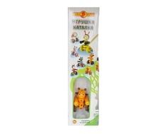 Игрушка-каталка Папа Карло «Жираф» деревянная