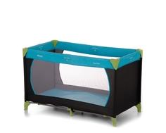Манеж-кроватка Hauck «Dreamn Play» сине-голубой
