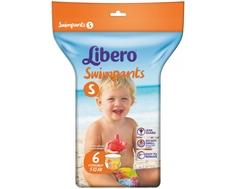 Трусики-подгузники Libero Swimpants для плавания (7-12 кг) 6 шт.