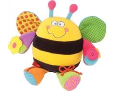 Развивающая игрушка Мир Детства «Ученая пчела» со шнуровкой