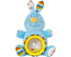 Игрушка-погремушка Мир Детства «Фокусник Зайка»