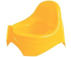 Горшок Пластишка со спинкой в ассортименте