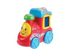 Развивающая игрушка Fisher Price «Смейся и учись: Поезд-алфавит»