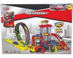 Игровой набор Технопарк «Авторалли» с машиной