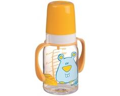 Бутылочка Canpol babies тритановая сручками и силиконовой соской 3 мес.+, 120 мл
