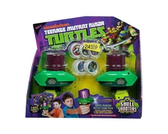 Игровой набор Nickelodeon «Черепашки Ниндзя» с двумя запускающими устройствами