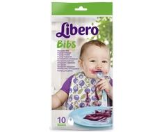 Нагрудник Libero Bibs одноразовый 10 шт.