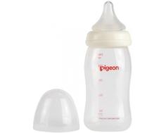 Бутылочка Pigeon «Peristaltic Plus» с силиконовой соской с рождения 240 мл