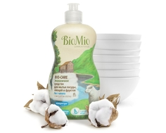 Средство для мытья посуды, овощей и фруктов BioMio BIO-CARE концентрат 450 мл