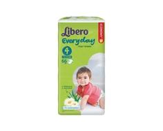 Подгузники Libero Everyday 4 (7-18 кг) 66 шт.