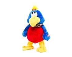 Мягкая игрушка Пушистые друзья «Курочка, ворона и попугай»