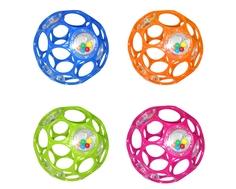 Развивающая игрушка Oball «Гремящий мячик» 11 см в ассортименте
