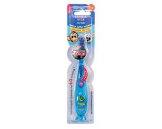 Зубная щетка Longa Vita «Забавные зверята» мигающая с присоской с 3 лет
