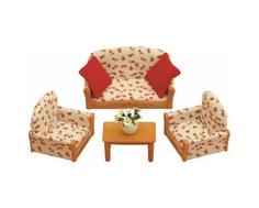 Игровой набор Sylvanian Families «Мягкая мебель для гостиной»