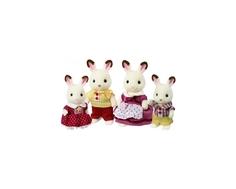 Игровой набор Sylvanian Families «Семья шоколадных Кроликов»