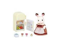 Игровой набор Sylvanian Families «Мама-кролик и холодильник»