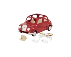 Игровой набор Sylvanian Families «Семейный автомобиль» красный
