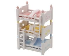 Игровой набор Sylvanian Families «Трехъярусная кровать»