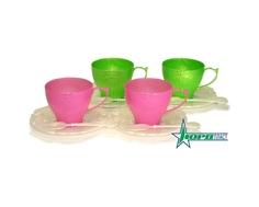 Игровой набор посуды Нордпласт «Чайный сервиз: Волшебная Хозяюшка» 12 пр.
