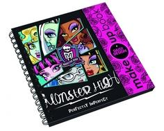 Книга для девочек Monster High «Make Up»