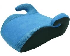 Автокресло-бустер Siger «Мякиш Плюс» 22-36 кг синий