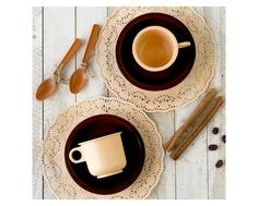 Игровой набор посуды РосИгрушка «Чайная пара Милк» 6 пр.