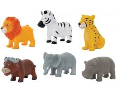 Набор игрушек-брызгалок для ванны Курносики «Животные Африки» в ассортименте