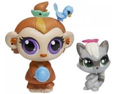 Игровой набор Littlest Pet Shop «Зверюшка и ее малыш» в ассортименте Hasbro
