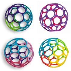 Развивающая игрушка Oball «Гремящий мячик» 10 см в ассортименте