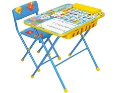 Комплект мебели Nika kids «Первоклашка» стол 60х45 см и стул зеленый