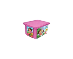 Ящик для игрушек Little Angel «X-BOX Даша-путешественница» 17 л