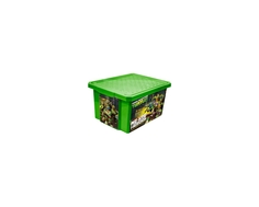 Ящик для игрушек Little Angel «X-BOX Черепашки-ниндзя» 17 л