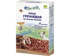 Каша Fleur Alpine Organic гречневая на козьем молоке с 4 мес. 200 г